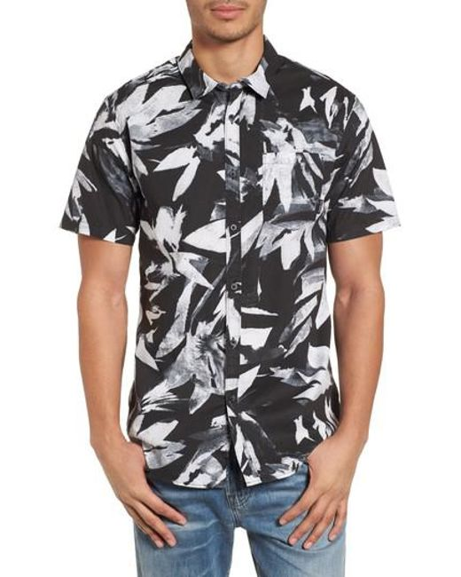 Billabong - Black Sundays Floral Shirt for Men - Lyst