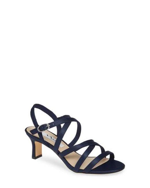 31f558dd7 Nina - Multicolor Genaya Strappy Evening Sandal - Lyst