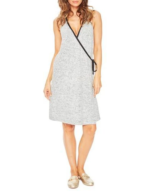 Lyst - Rosie Pope Kelsey Maternity Nightgown in Gray