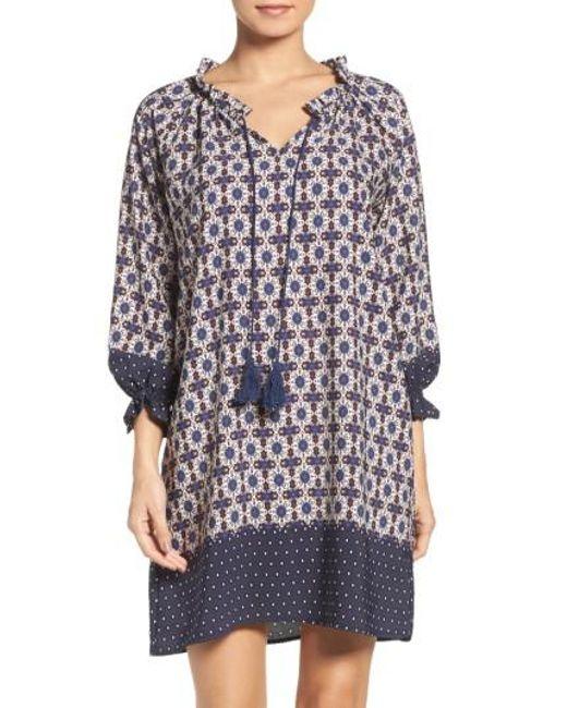Fraiche By J | Multicolor Catella Tunic Dress | Lyst