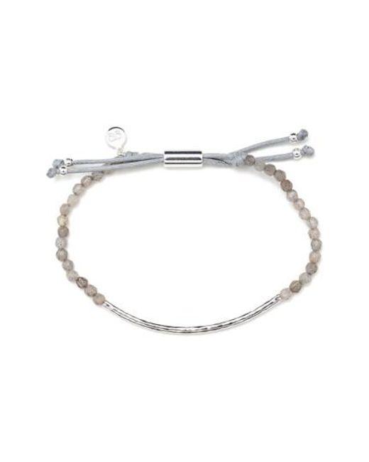Gorjana   Metallic 'power Stone' Semiprecious Stone Bracelet   Lyst