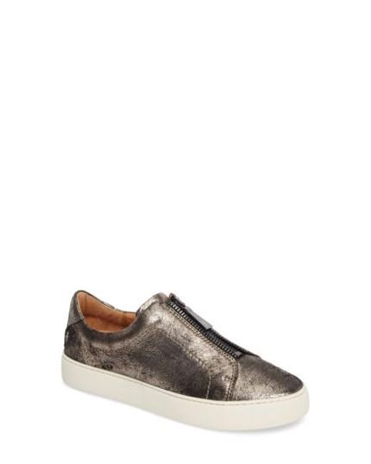 Frye - Multicolor Lena Zip Platform Sneaker - Lyst