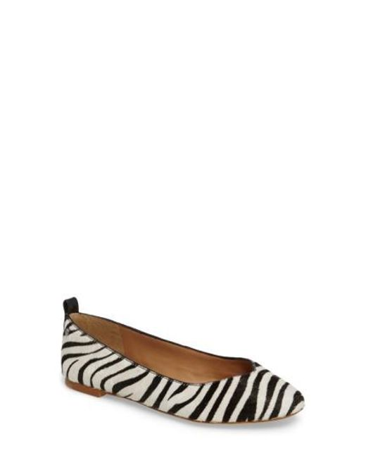 Ugg | Multicolor Ugg Lynley Genuine Calf Hair Flat | Lyst