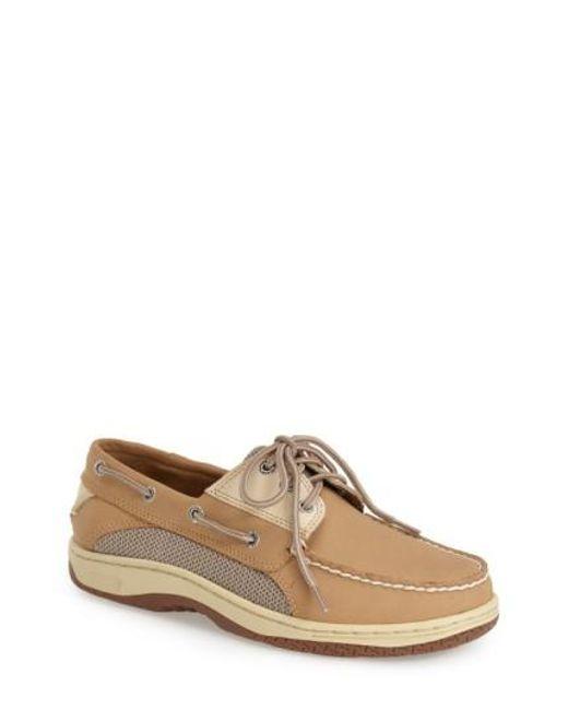 Sperry Top-Sider - Brown 'billfish' Boat Shoe for Men - Lyst