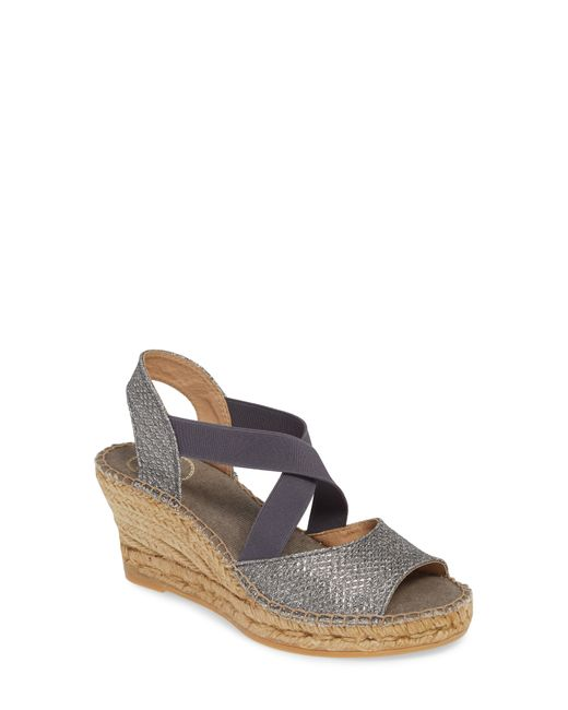 Toni Pons Multicolor Sol Wedge Espadrille Sandal