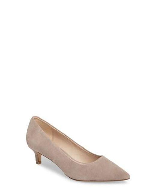 Pelle Moda | Red Dena Pointy Toe Pump | Lyst
