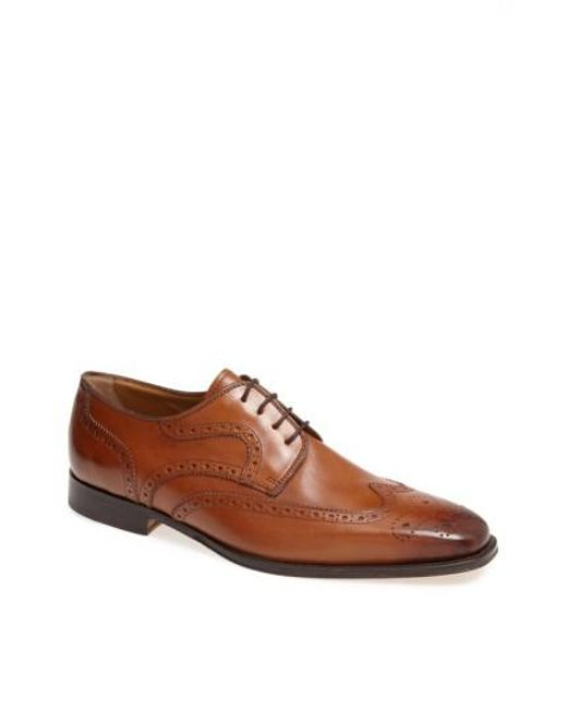 Florsheim | Brown 'classico' Wingtip for Men | Lyst