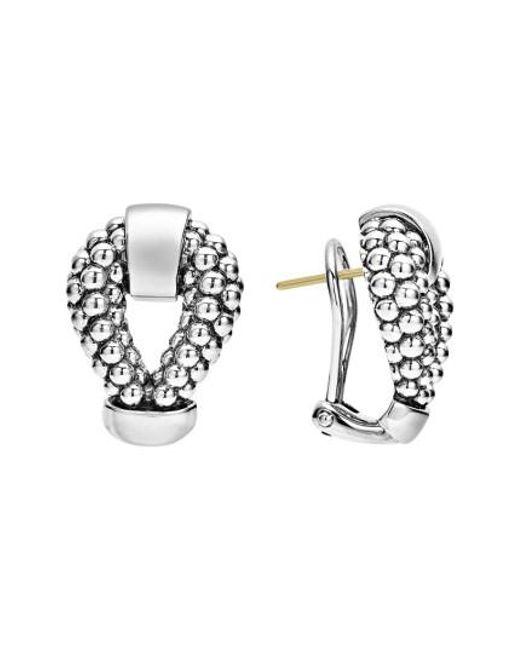 Lagos | Metallic Derby Caviar Stud Earrings | Lyst