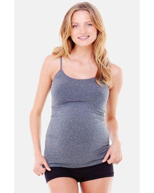 Ingrid & Isabel - Gray Ingrid & Isabel 'everyday' Seamless Maternity Camisole - Lyst