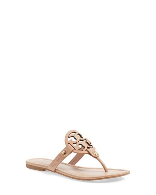 Tory Burch | Brown 'miller' Flip Flop | Lyst