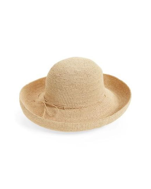Helen Kaminski | Natural 'provence 12' Packable Raffia Hat | Lyst