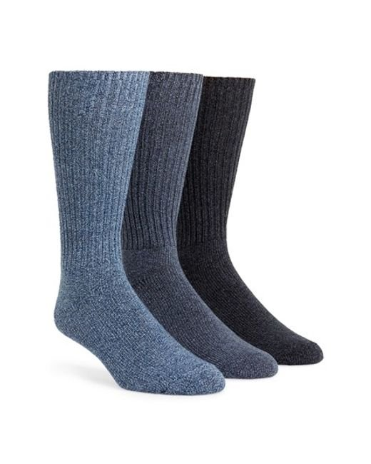 Calvin Klein | 3-pack Casual Socks, Blue for Men | Lyst