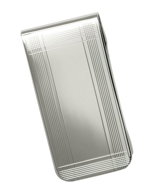 David Donahue | Money Clip - Metallic for Men | Lyst