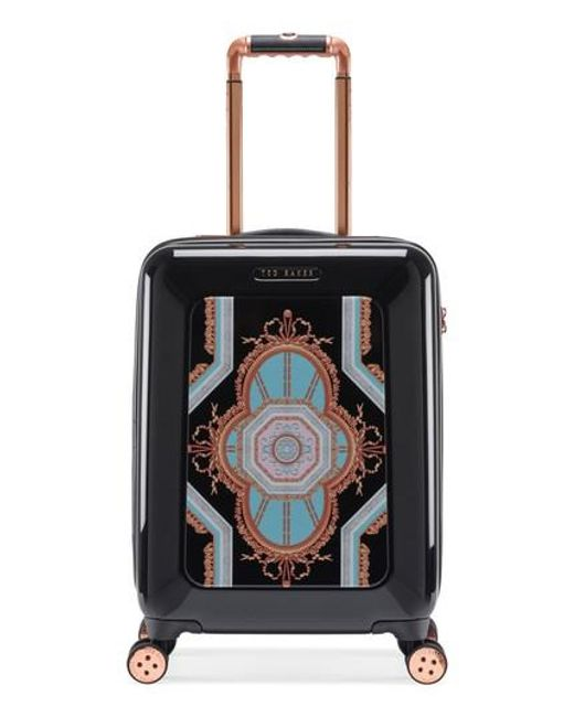 95c4143d71bd5c Lyst - Ted Baker Small Versailles 21-inch Spinner Carry-on - in Black