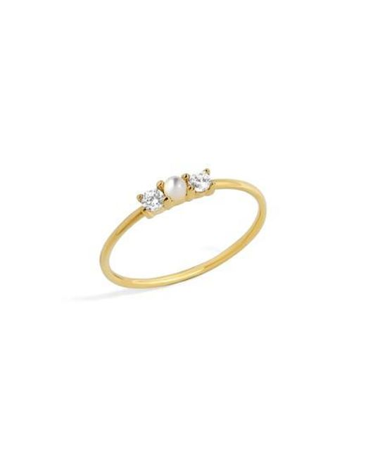 BaubleBar | Metallic Opalescent Everyday Fine Ring | Lyst