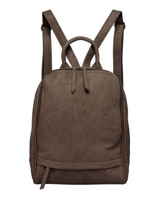 Lyst - Urban originals My Way Vegan Leather Backpack in Brown
