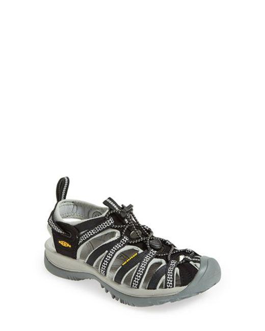 Keen | Black 'Whisper' Waterproof Sandal (Women) | Lyst