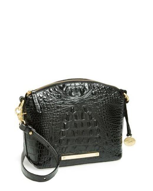 Brahmin   Black 'mini Duxbury' Crossbody Bag   Lyst