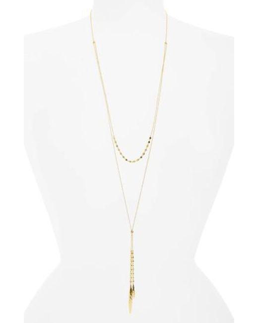 Gorjana | Metallic Chloe Multistrand Necklace | Lyst