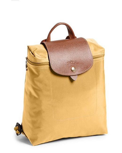 Longchamp Le Pliage Backpack In Natural Lyst