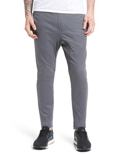 Zanerobe | Gray Salerno Stretch Woven Jogger Pants for Men | Lyst