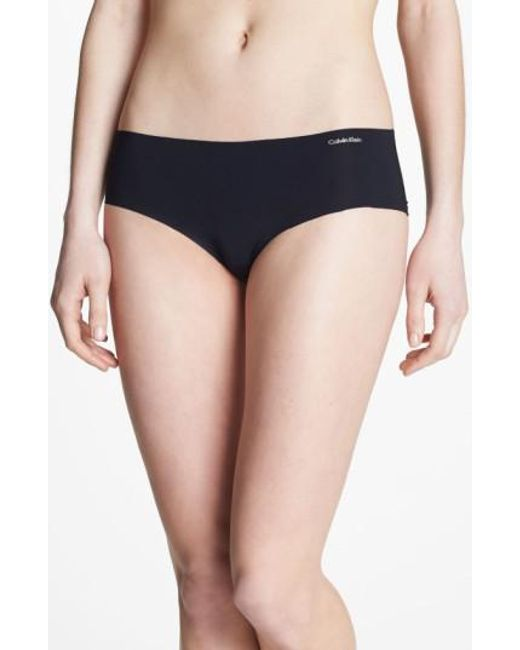 CALVIN KLEIN 205W39NYC - Black 'invisibles' Hipster Briefs - Lyst