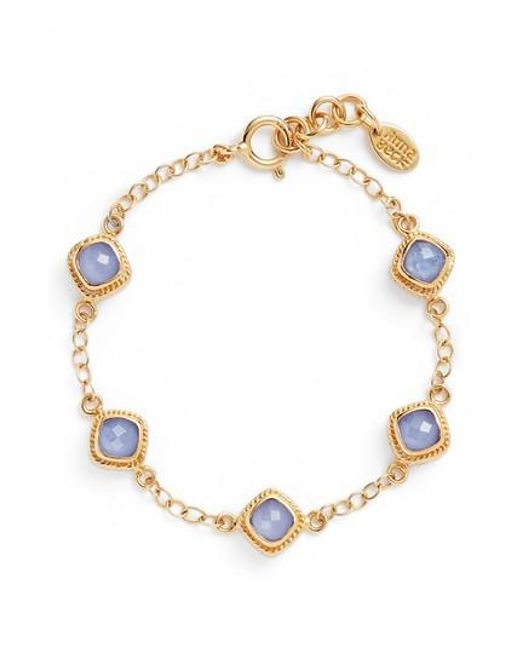Anna Beck | Metallic Station Bracelet | Lyst