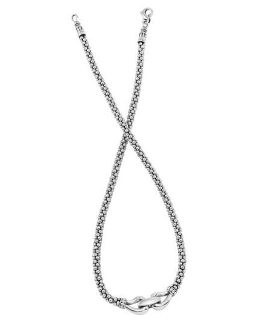 Lagos - Metallic 'derby' Buckle Rope Necklace - Lyst
