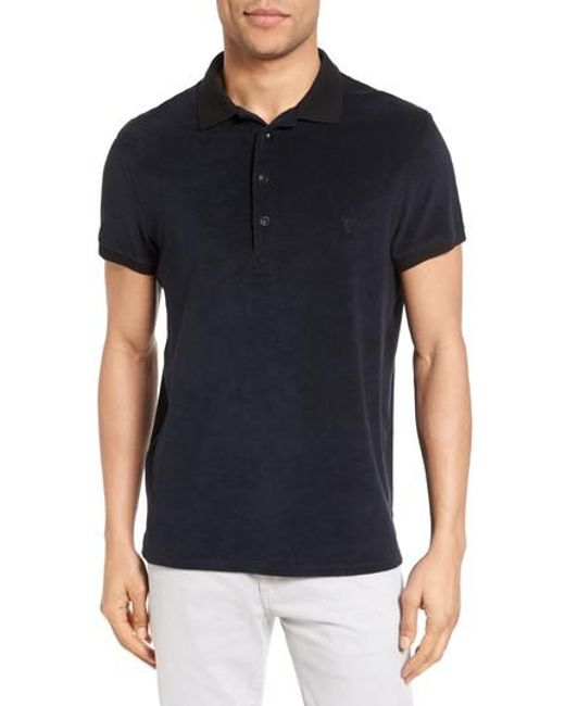 Vilebrequin | Black Terry Polo for Men | Lyst