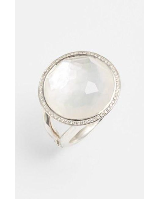 Ippolita - Metallic 'stella - Lollipop' Cocktail Ring - Lyst