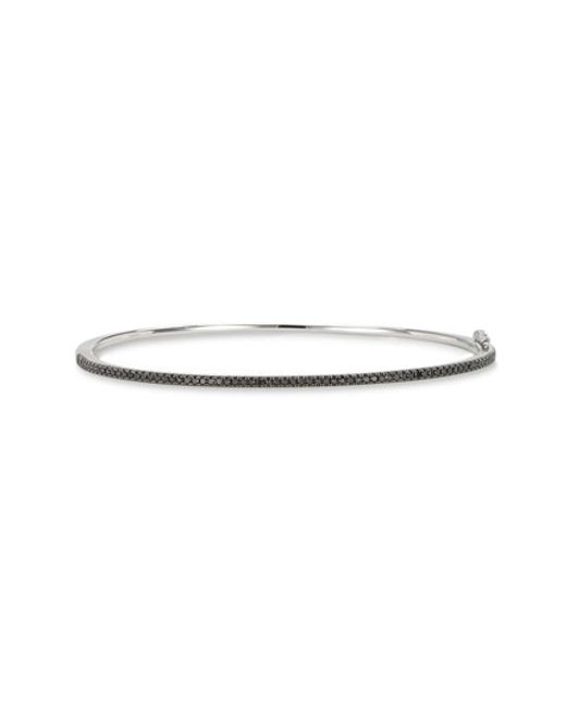 Bony Levy | White Skinny Diamond Bangle (nordstrom Exclusive) | Lyst