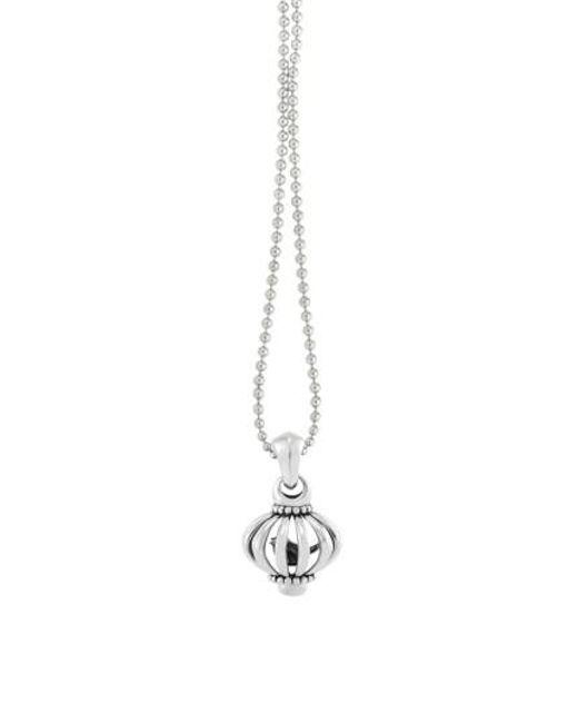 Lagos | Metallic Long Pendant Necklace | Lyst