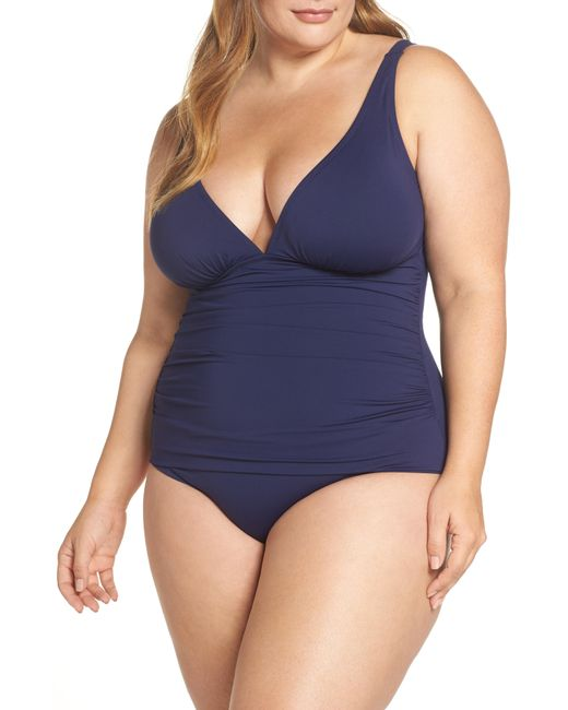 Tommy Bahama - Blue Pearl One-piece Swimsuit - Lyst