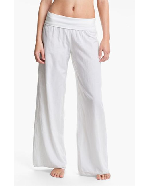 Hard Tail | White Voile Pants | Lyst