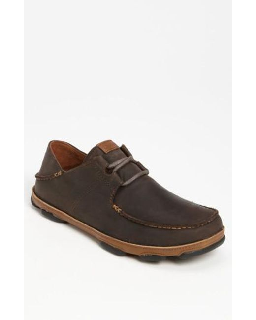 Olukai   Brown 'ohana' Lace Up for Men   Lyst