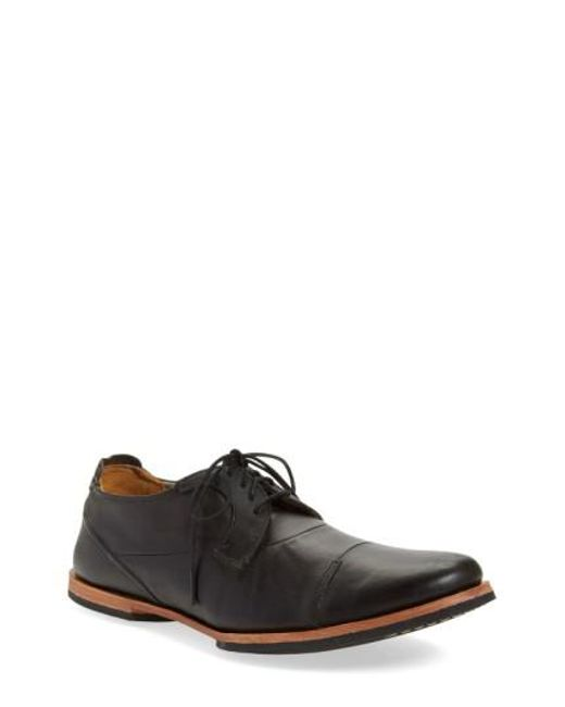 Timberland | Black 'wodehouse Lost History' Cap Toe Oxford for Men | Lyst