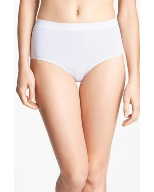Wacoal | White B Smooth Briefs | Lyst