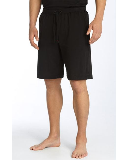 Daniel Buchler | Black Peruvian Pima Cotton Shorts for Men | Lyst