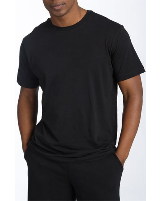 Daniel Buchler | Black Peruvian Pima Cotton T-shirt for Men | Lyst