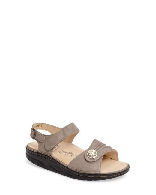 Finn Comfort | Natural Finnamic By 'sausalito' Sandal | Lyst