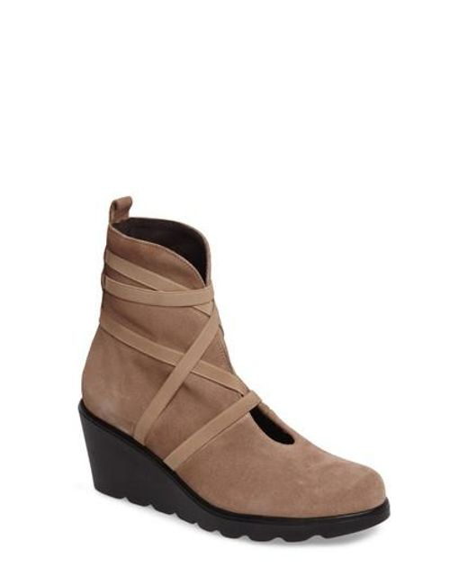 Toni Pons | Brown Blanca Wedge Boot | Lyst