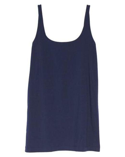 Sejour | Blue New Slim Strap Tank | Lyst