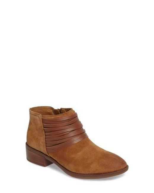 Comfortiva - Brown Corliss Strappy Bootie - Lyst
