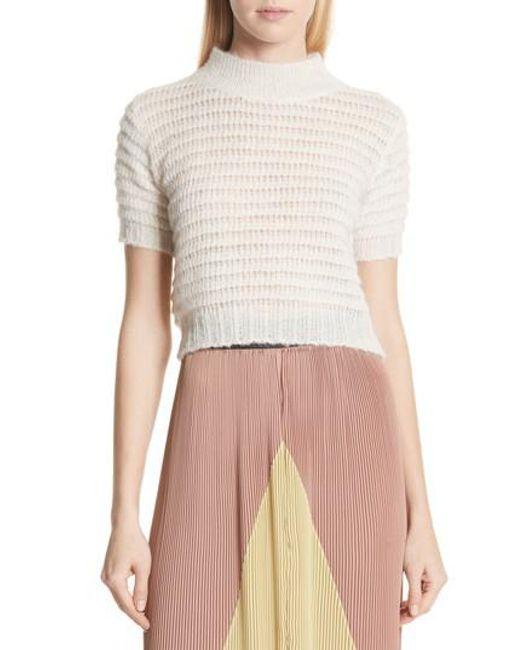 Rachel Comey - Multicolor Crop Knit Tee - Lyst