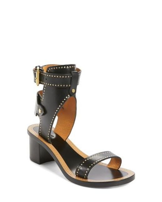 big sale cheap price Isabel Marant Studded Ankle Strap Sandals discount 100% authentic cheap sale authentic v81y4