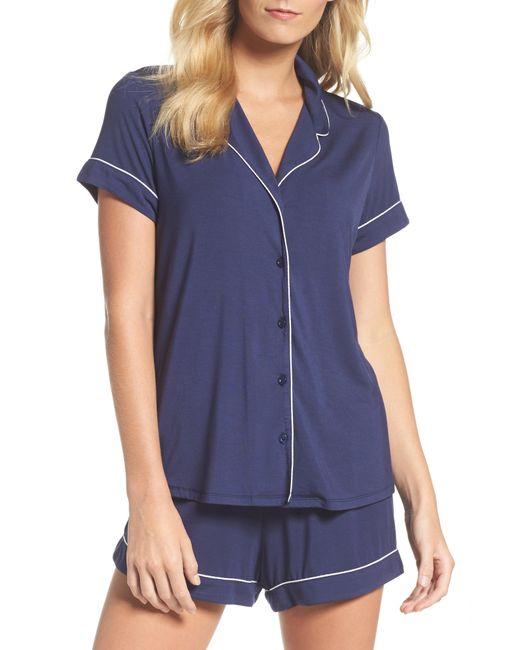 Nordstrom - Blue 'moonlight' Short Pajamas - Lyst