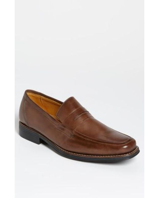 Sandro Moscoloni - Brown 'stuart' Penny Loafer for Men - Lyst