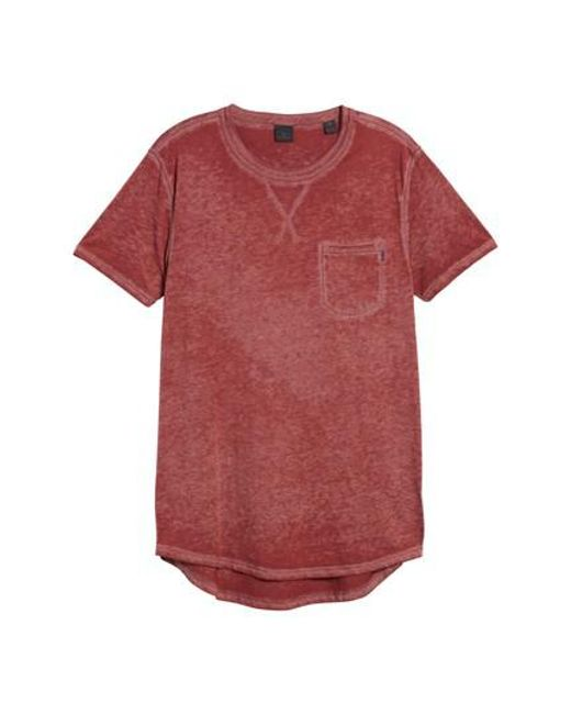 Scotch & Soda | Pink Pocket T-shirt for Men | Lyst