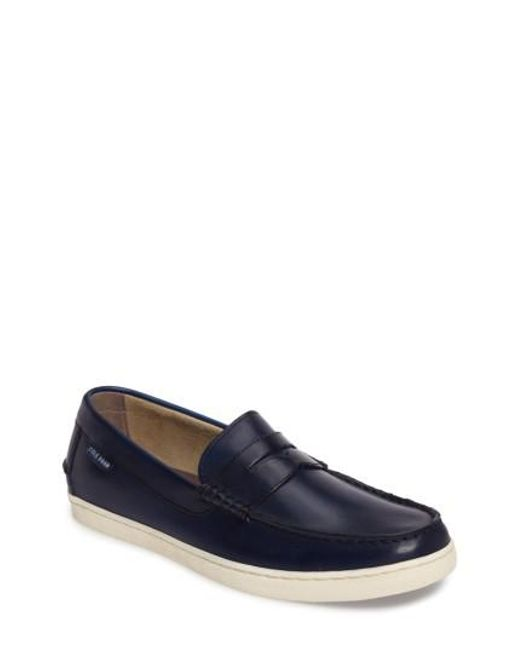 Cole Haan | Blue Pinch Penny Loafer for Men | Lyst