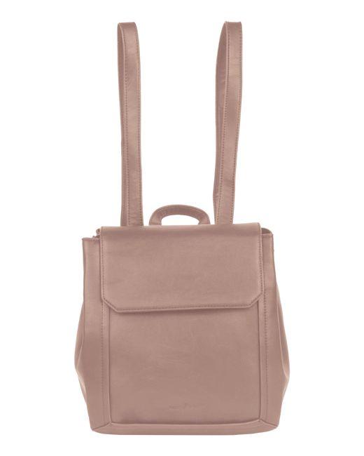 Urban Originals - Gray Modernism Vegan Leather Backpack - Lyst
